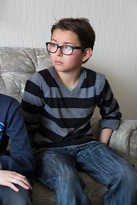 OIMB kinderen van de Poolster interviewn mevrouw Rijngou over de oorlog, 9 april 2015, foto: Katrien Mulder