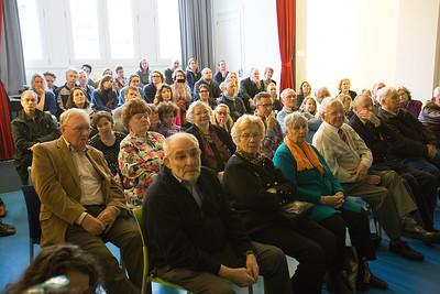 18 maart 2015, Oorlog in mijn Buurt, presentatie Rijk Kramerstraat, foto: Katrien Mulder