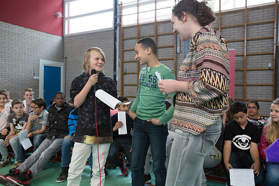 presentatie de Poolster 17 april 2015, foto: Katrien Mulder