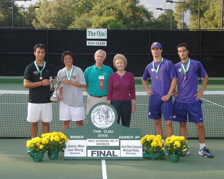 Mens Invitational PAC 10 Doubles