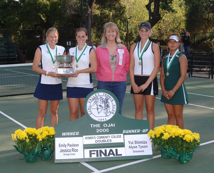 Womens Community College Doubles
