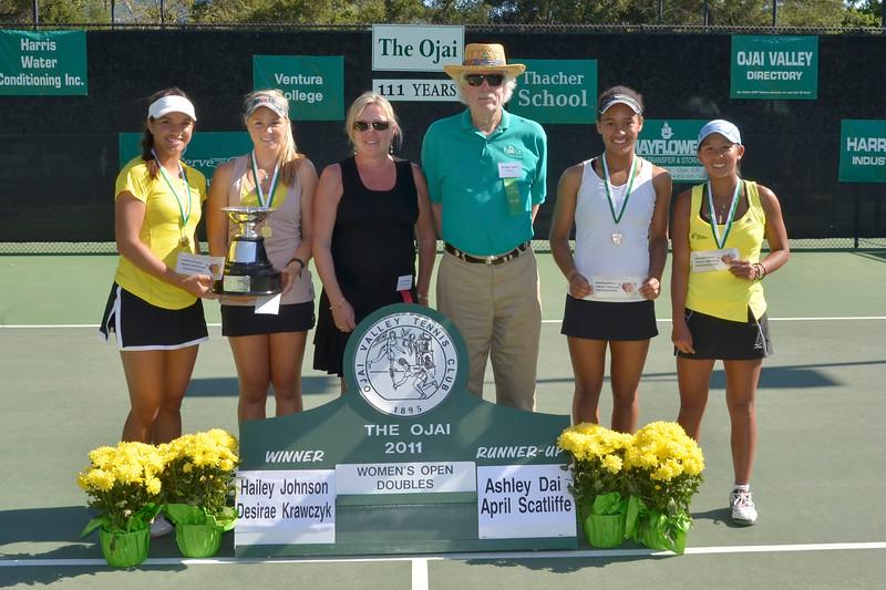 womens open doubles