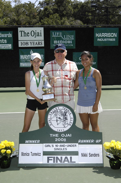Girls 16 and Under Singles