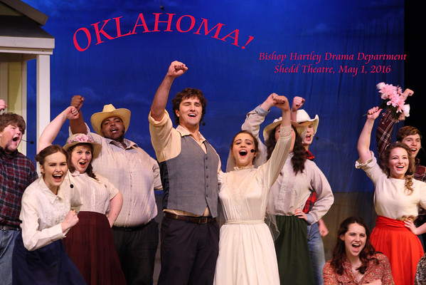 OKLAHOMA! May 1, 2016. Bishop Hartley Drama Department