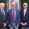 Fall 2013 Distinguished Alumni Award recipients: Uncas McThenia '58/'63L, Ed Spencer '53 and Lew John '58