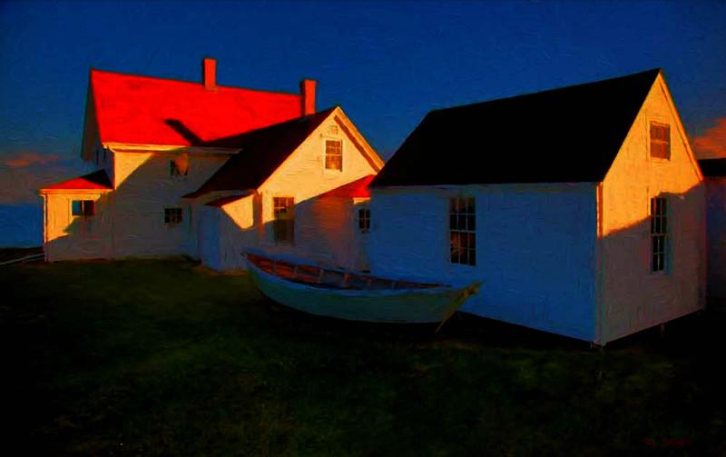 Mohegan Island , Maine
