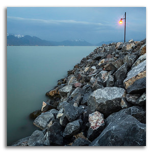 Utah Lake Twilight