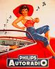 Philips Autoradio 1950's.