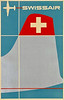 Swissair Travel Poster 1952.