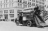 Auto street cleaner, New York 1907.
