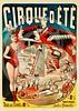 French Circus Poster - Cirque d'Ete 1890.