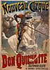 French Circus Poster - Nouveau Cirque 1892.