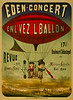 French Circus Poster - Eden.Concert Revue 1884.