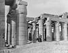 Ramesseum ruins, Thebes, Egypt 1870