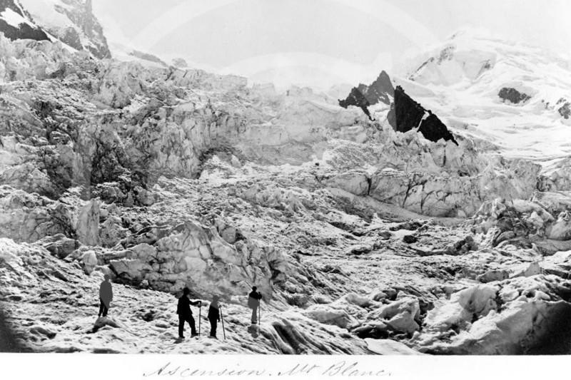 Ascension, Mont Blanc, France 1860