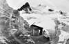 Les Grands Mulets Hut. Mont Blanc 1860.