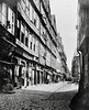Street scene, Frankfurt, Germany 1860.
