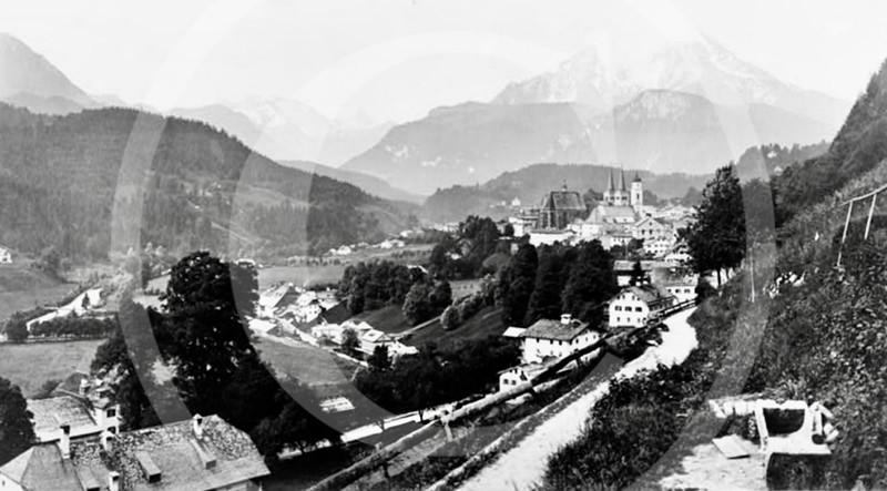 Berchtesgaden, Germany 1870.