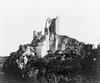 Ruined castle. Rhine region, Germany 1870.