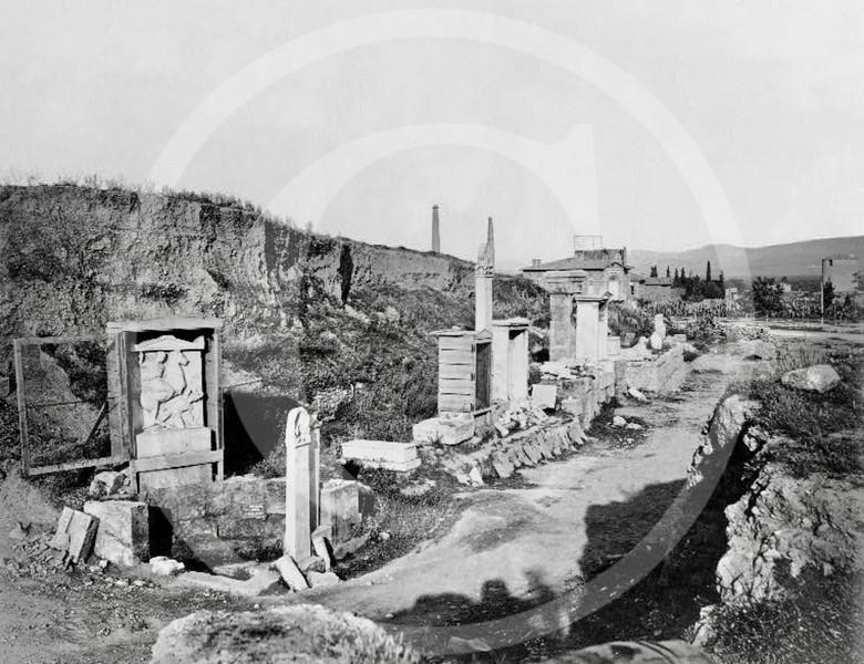 Tomb of Dexileos, Hagia Triada 1860.
