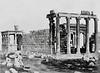 Erechtheion, Athens 1860.
