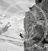 Mountain climbers, Zermatt, Switzerland 1954