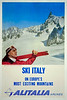Italy Travel Poster.