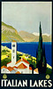 Italian Lakes Travel Poster 1930