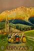 Abruzzo, Italy  Travel Poster 1920