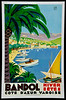 Bandol Travel Poster 1932