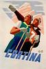 Cortina, Italy Travel Poster 1938.