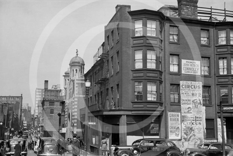 Boston, Massachusetts 1938.
