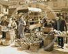 Vegetable Market, Indianapolis 1908