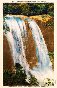 Dry Falls Upper Cullasaja
