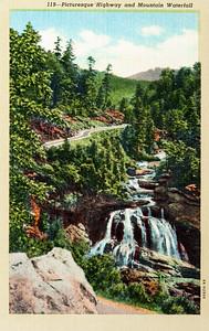 Cullasaja river Highway