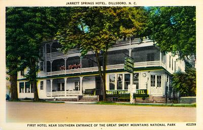 Jarrett Spring Hotel, Dillsboro, NC