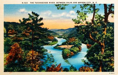 Tuckaseigee River