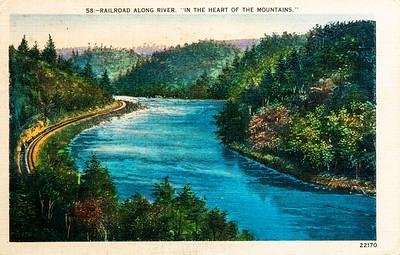 Railroad Along the River