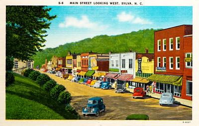 Main Street Sylva, NC