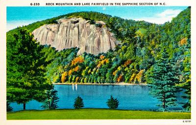 Rock Mountain & Lake Fairfield