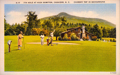 7th Hole at High Hampton, Cashiers