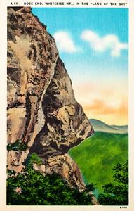 Nose End, Whiteside Mountain