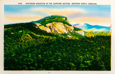 Whiteside Mountain in Sapphire Section