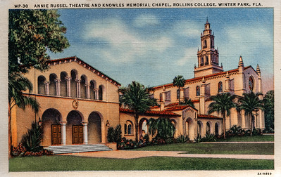 Annie Russel Theatre & Knowles Chapel
