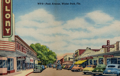 Park Ave, Winter Park