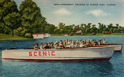 Powerboat Cruising, Winter Park