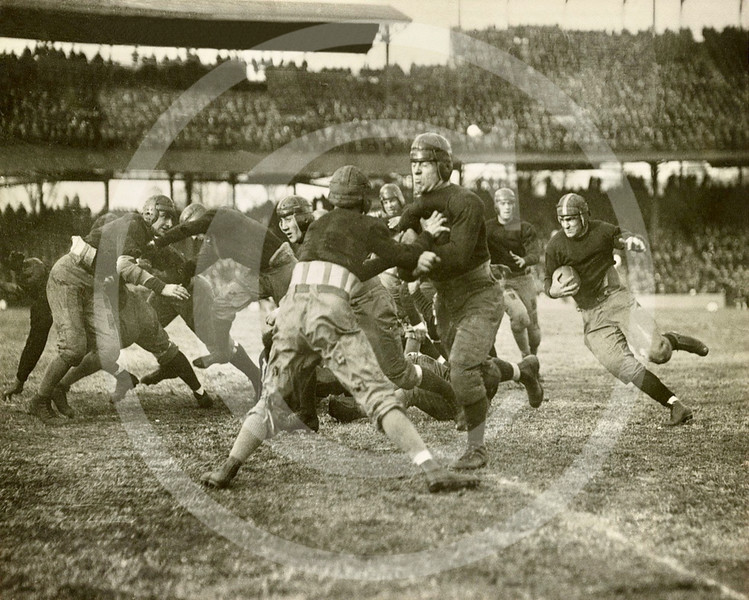 Football game played between 1920 & 1930.