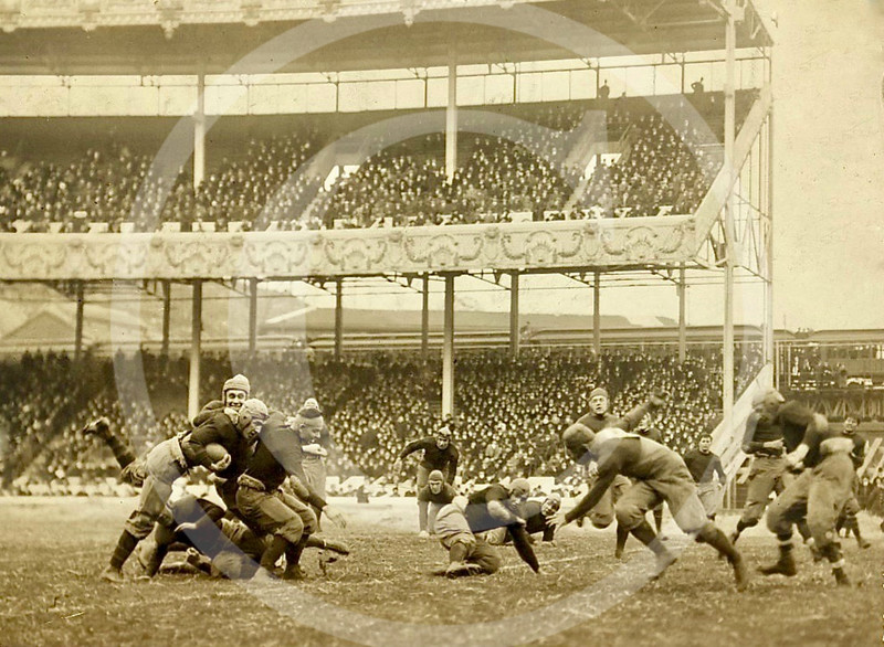 The Annual Army v Navy game, Polo Grounds, New York 1916