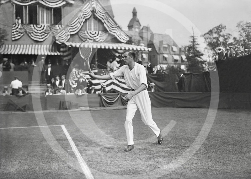 Bill Tilden, Forest Hills, New York 1913