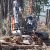 """""""Biggie"""" is alternating between the Volvo and Komatsu excavators."""